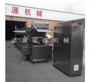 选择全自动海产品小酥鱼鱼豆腐油炸机生产线
