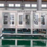 弱碱性水灌装机出产线