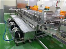 全自动净菜加工设备~不锈钢韭菜清洗机