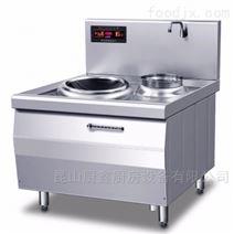 供應廠家直銷餐廳炒菜環保灶電磁單頭小炒爐