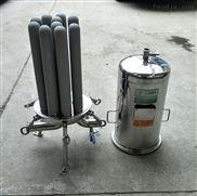 工业环保设备不锈钢钛棒滤芯过滤器