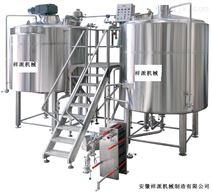 啤酒发酵生成过程