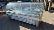 双面开不锈钢熟食展示柜常温的制冷保鲜的