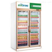 玫瑰金单门双门饮料展示柜冷藏柜吧台冰柜