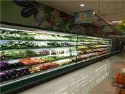 苏州供应超市蔬菜保鲜柜水果风幕柜厂家