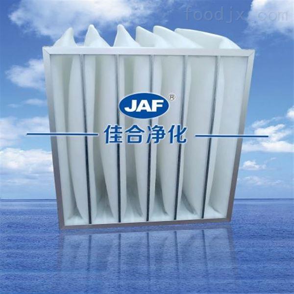 镀锌框初效袋式过滤器-空调机组过滤网