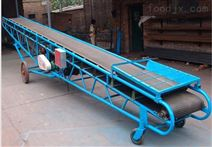 粮食自动输送机移动式爬坡皮带运输机