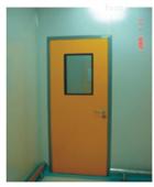 烤漆、免漆钢制洁净门