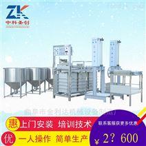 淮北全自动千张机,仿手工豆腐皮机厂家供应