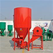 家用立式2000公斤单独饲料搅拌机大型2吨养殖饲料粉碎搅拌一体机