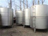 出售二手30吨316L不锈钢储罐