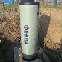 HYGRP廣西一體化泵站廠家定制出產玻璃鋼