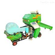 圆捆玉米秸秆青储打捆机 打捆包膜机