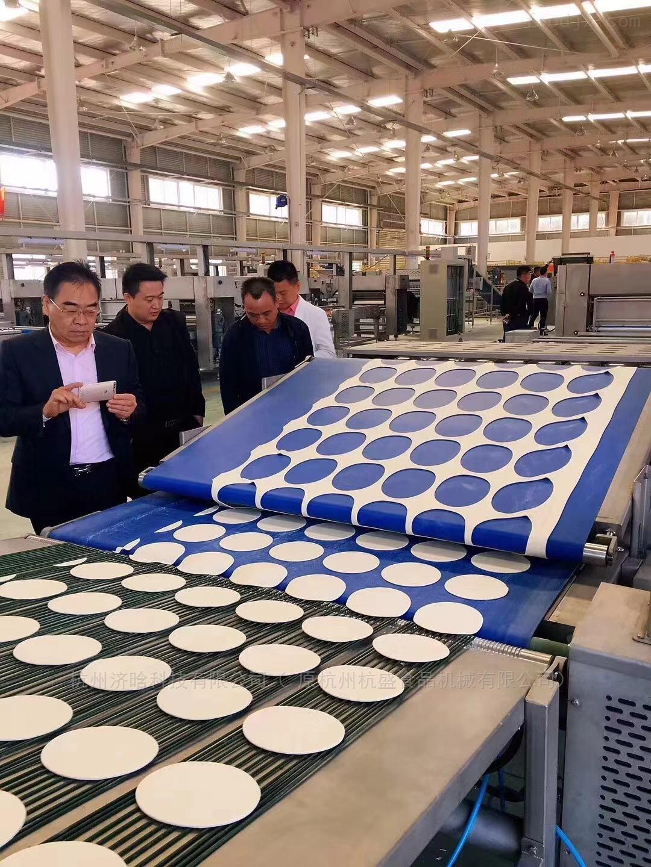 陜西大鍋盔生產線