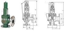 KA42Y抗硫彈簧封閉全啟式安全閥