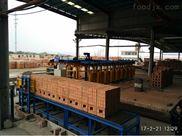 中方红砖自动包装生产线打包机深受用户好评