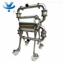 不锈钢食品级气动隔膜泵