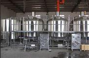 山東濟南自釀啤酒設備多少錢