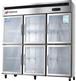 青州爱雪商用六门冷柜