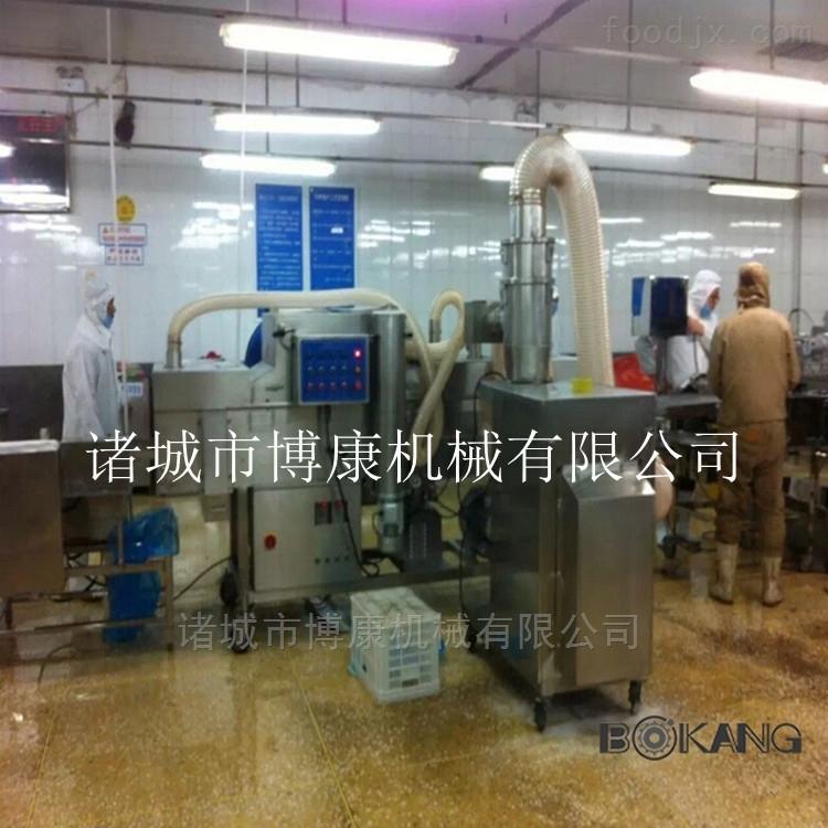 鱼排打粉机 裹粉鱼排设备 博康机械