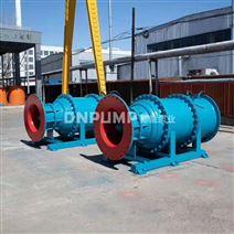 泵站斜拉式潛水軸流泵參數規格