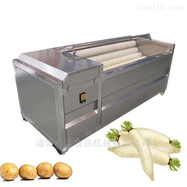 不锈钢打造藕毛辊清洗机