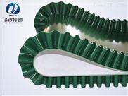 绿色裙边PVC输送带厂家直销