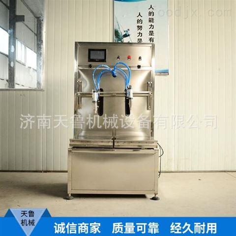 泰安机油润滑油食用油称重式灌装机
