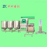 中科圣创四川全自动牛皮豆腐干机生产线价格