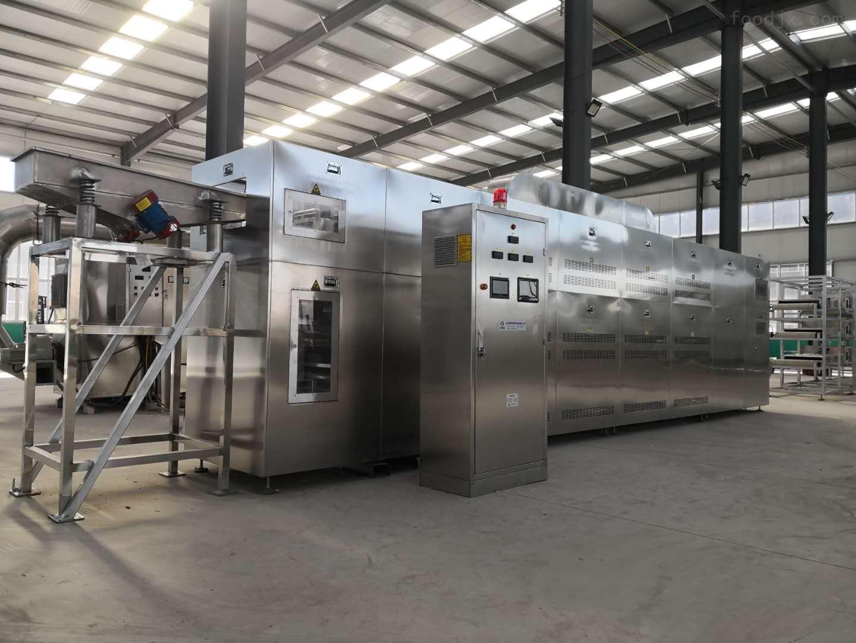 多層微波五谷烘焙熟化設備生產廠家康來