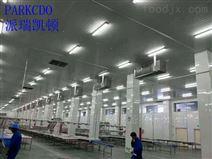 新疆肉类生产专用车间吊顶冷风机
