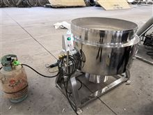 500L玫瑰酱燃气式夹层锅