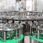 全自动玻璃瓶果汁饮料灌装机