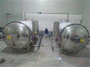 厂家直销立式全自动双锅并联杀菌锅