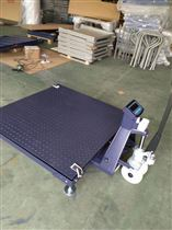 DCS-HT-Y成都1吨叉车移动式地磅 2T升降移动平台秤