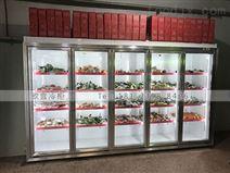 北京立式展示冷柜規格大小哪里能定做