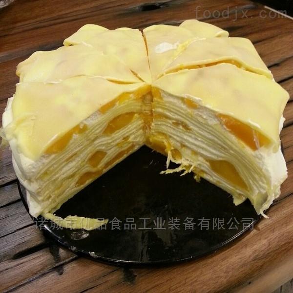YP-厂家直销 千层蛋糕饼皮机 毛巾卷皮机