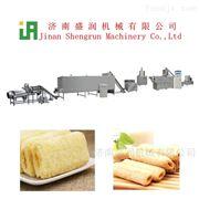 TSE70多种口味夹心米果生产膨化机设备