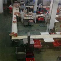 猪肉分割线 德州扒鸡屠宰厂肉类分割输送线