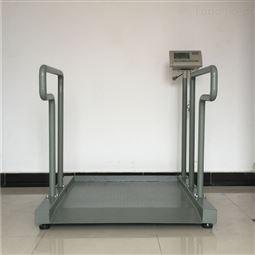 300kg医疗透析平台秤 带打印轮椅体重秤厂家