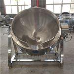 600L不锈钢电加热大骨熬汤夹层锅 大型电热锅