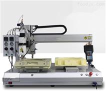 瑞德鑫熱熔膠點膠機光學器件加工三軸平臺