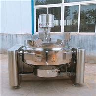 YC-100L蚕豆酱行星搅拌高粘度燃气酱料炒锅