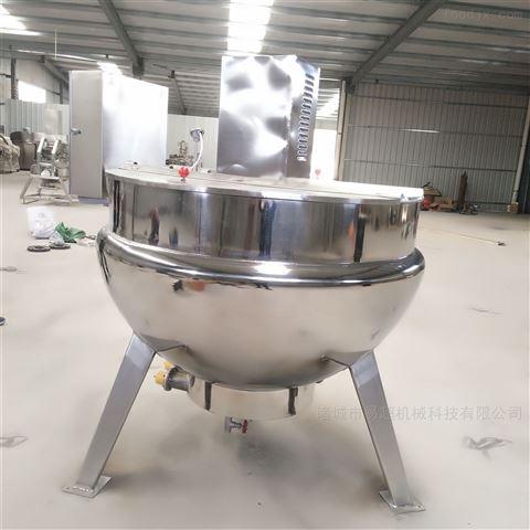 熬制骨头汤可倾搅拌电加热夹层锅