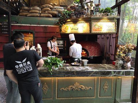 果木披薩爐窯爐酒店設備