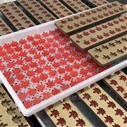 上海合强枫叶软糖浇注设备 生产线 软糖模具