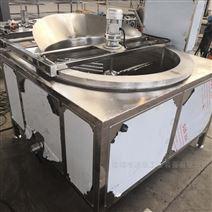 清水油面筋电加热油炸锅