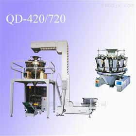 QD-420上海钦典供应宠物粮颗粒包装机 插脚袋