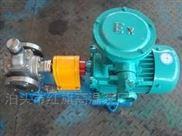 噪音低效率高圆弧齿轮泵YCB40-0.6红旗提供