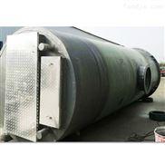 專業暢銷玻璃鋼地埋式預制泵站雨水提升